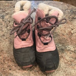 Girls Columbia Snow Boots